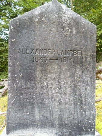 CAMPBELL, ALEXANDER - Albany County, New York | ALEXANDER CAMPBELL - New York Gravestone Photos
