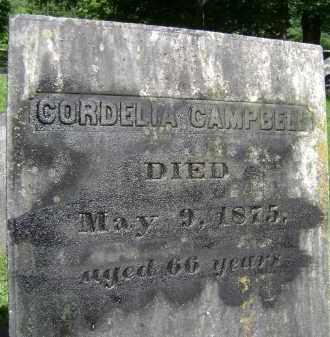 CAMPBELL, CORDELIA - Albany County, New York | CORDELIA CAMPBELL - New York Gravestone Photos