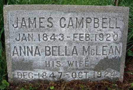 CAMPBELL, ANNA BELLA - Albany County, New York | ANNA BELLA CAMPBELL - New York Gravestone Photos