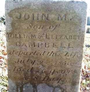 CAMPBELL, JOHN M - Albany County, New York | JOHN M CAMPBELL - New York Gravestone Photos