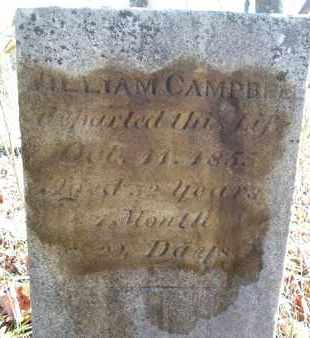 CAMPBELL, WILLIAM - Albany County, New York | WILLIAM CAMPBELL - New York Gravestone Photos
