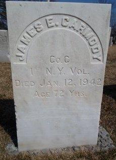 CARMODY (SA), JAMES E - Albany County, New York   JAMES E CARMODY (SA) - New York Gravestone Photos