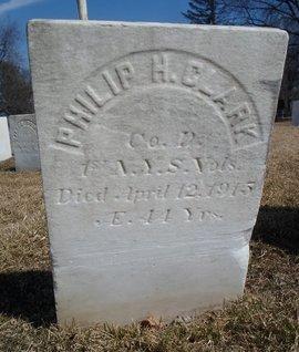 CLARK, PHILIP H - Albany County, New York | PHILIP H CLARK - New York Gravestone Photos