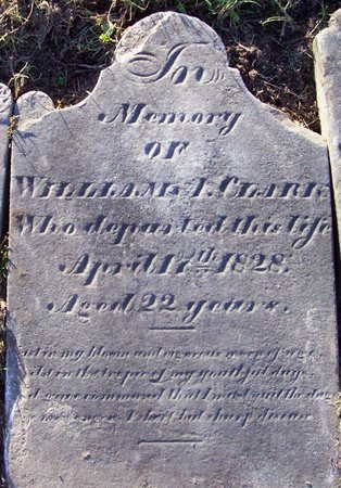 CLARK, WILLIAM A - Albany County, New York | WILLIAM A CLARK - New York Gravestone Photos