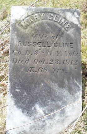 CLINE, MARY - Albany County, New York | MARY CLINE - New York Gravestone Photos