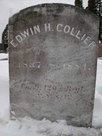 COLLIER, EDWIN H - Albany County, New York   EDWIN H COLLIER - New York Gravestone Photos