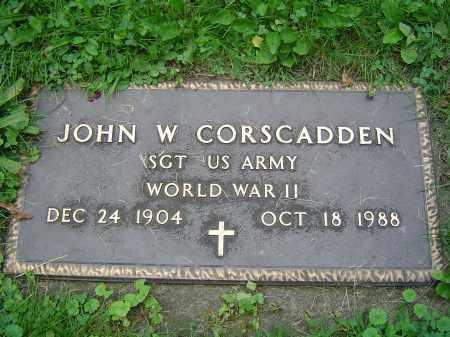 CORSCADDEN (WWII), JOHN W - Albany County, New York | JOHN W CORSCADDEN (WWII) - New York Gravestone Photos
