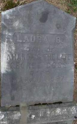 COSS, LAURA B - Albany County, New York | LAURA B COSS - New York Gravestone Photos