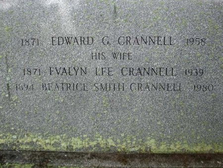 LEE CRANNELL, EVALYN - Albany County, New York | EVALYN LEE CRANNELL - New York Gravestone Photos