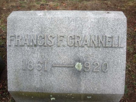 CRANNELL, FRANCIS F - Albany County, New York | FRANCIS F CRANNELL - New York Gravestone Photos