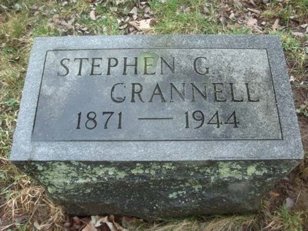 CRANNELL, STEPHEN G - Albany County, New York | STEPHEN G CRANNELL - New York Gravestone Photos