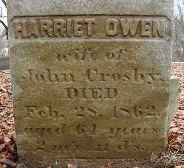 OWEN, HARRIET - Albany County, New York | HARRIET OWEN - New York Gravestone Photos
