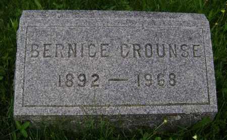 CROUNSE, BERNICE - Albany County, New York | BERNICE CROUNSE - New York Gravestone Photos