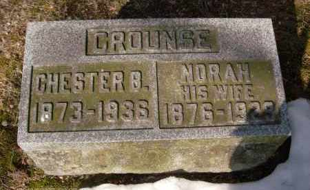 CROUNSE, CHESTER B - Albany County, New York | CHESTER B CROUNSE - New York Gravestone Photos