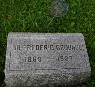 CROUNSE, FREDERIC - Albany County, New York | FREDERIC CROUNSE - New York Gravestone Photos