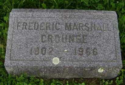 CROUNSE, FREDERIC MARSHALL - Albany County, New York | FREDERIC MARSHALL CROUNSE - New York Gravestone Photos