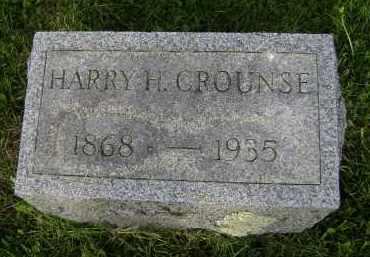 CROUNSE, HARRY H - Albany County, New York   HARRY H CROUNSE - New York Gravestone Photos