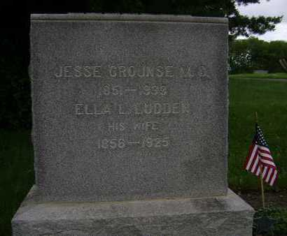 CROUNSE, JESSE - Albany County, New York | JESSE CROUNSE - New York Gravestone Photos
