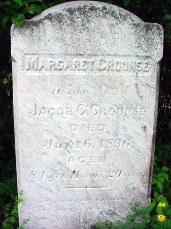 CROUNSE, MARGARET - Albany County, New York | MARGARET CROUNSE - New York Gravestone Photos