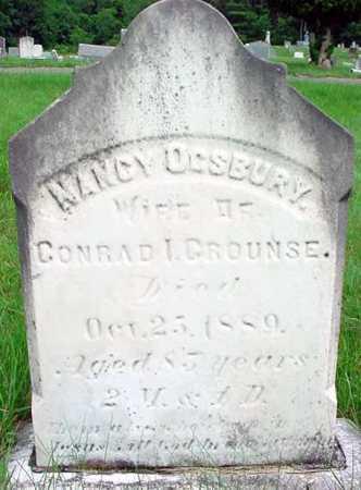CROUNSE, NANCY - Albany County, New York | NANCY CROUNSE - New York Gravestone Photos