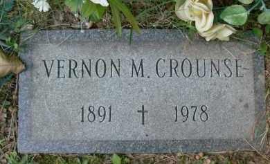 CROUNSE, VERNON - Albany County, New York | VERNON CROUNSE - New York Gravestone Photos