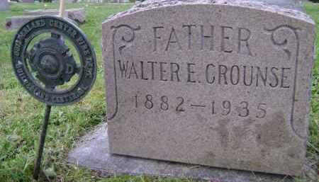 CROUNSE, WALTER E - Albany County, New York | WALTER E CROUNSE - New York Gravestone Photos