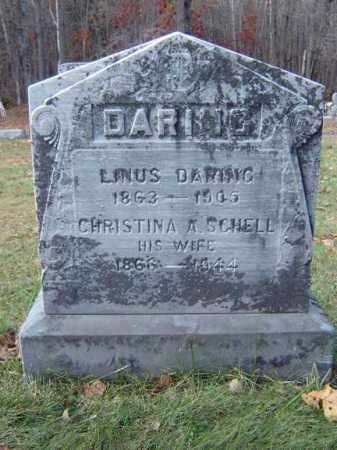 SCHELL DARING, CHRISTINA A - Albany County, New York | CHRISTINA A SCHELL DARING - New York Gravestone Photos