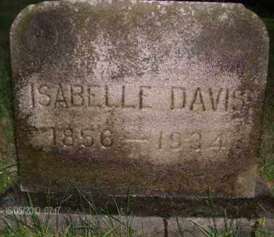 DAVIS, ISABELLE - Albany County, New York | ISABELLE DAVIS - New York Gravestone Photos