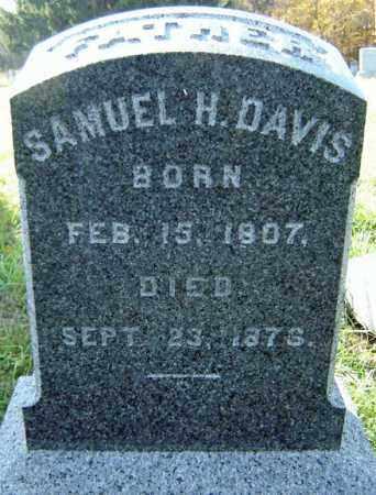 DAVIS, SAMUEL H - Albany County, New York | SAMUEL H DAVIS - New York Gravestone Photos
