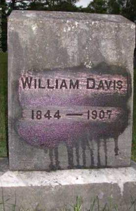 DAVIS, WILLIAM - Albany County, New York | WILLIAM DAVIS - New York Gravestone Photos