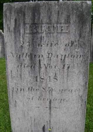 DAYTON, RUTH - Albany County, New York | RUTH DAYTON - New York Gravestone Photos
