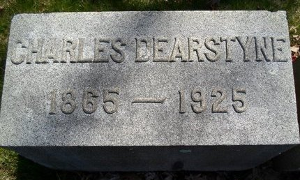 DEARSTYNE, CHARLES - Albany County, New York | CHARLES DEARSTYNE - New York Gravestone Photos
