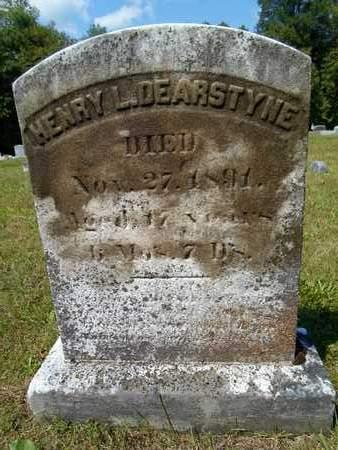 DEARSTYNE, HENRY L - Albany County, New York | HENRY L DEARSTYNE - New York Gravestone Photos
