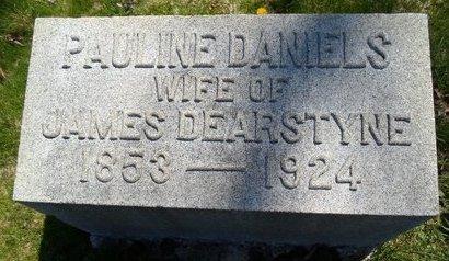 DANIELS, PAULINE - Albany County, New York | PAULINE DANIELS - New York Gravestone Photos