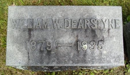 DEARSTYNE, WILLIAM W - Albany County, New York | WILLIAM W DEARSTYNE - New York Gravestone Photos