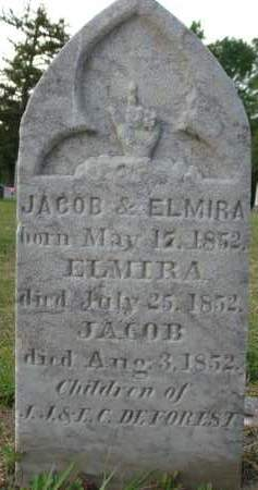 DEFOREST, JACOB - Albany County, New York | JACOB DEFOREST - New York Gravestone Photos