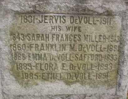 MILLER, SARAH FRANCES - Albany County, New York | SARAH FRANCES MILLER - New York Gravestone Photos