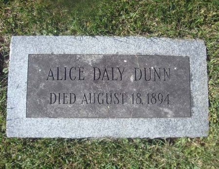 DUNN, ALICE - Albany County, New York   ALICE DUNN - New York Gravestone Photos