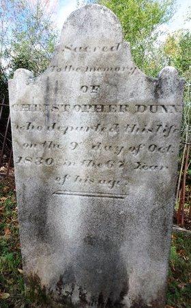 DUNN, CHRISTOPHER - Albany County, New York | CHRISTOPHER DUNN - New York Gravestone Photos
