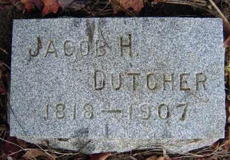 DUTCHER, JACOB H - Albany County, New York | JACOB H DUTCHER - New York Gravestone Photos