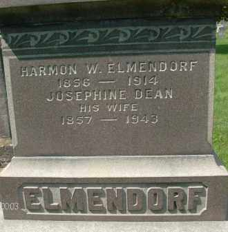 ELMENDORF, HARMON W - Albany County, New York | HARMON W ELMENDORF - New York Gravestone Photos