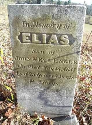 ENGLE, ELIAS - Albany County, New York | ELIAS ENGLE - New York Gravestone Photos