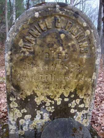 FILKINS, DANIEL C - Albany County, New York | DANIEL C FILKINS - New York Gravestone Photos