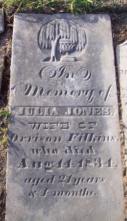 FILKINS, JULIA JONES - Albany County, New York | JULIA JONES FILKINS - New York Gravestone Photos