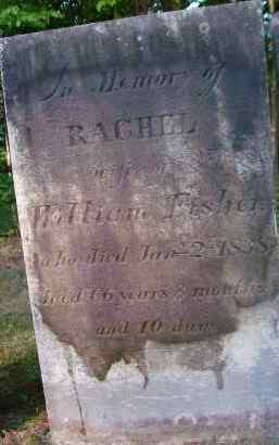 FISHER, RACHEL - Albany County, New York | RACHEL FISHER - New York Gravestone Photos