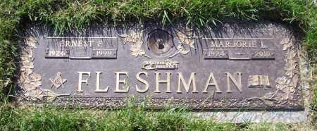 FLESHMAN, ERNEST F. - Albany County, New York | ERNEST F. FLESHMAN - New York Gravestone Photos