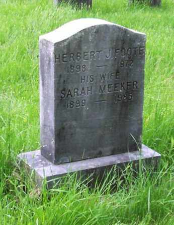 FOOTE, SARAH - Albany County, New York | SARAH FOOTE - New York Gravestone Photos