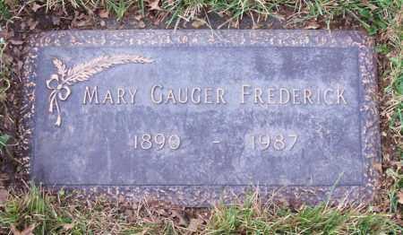 GAUGER, MARY - Albany County, New York | MARY GAUGER - New York Gravestone Photos