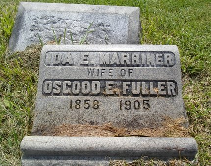 MARRINER FULLER, IDA E - Albany County, New York | IDA E MARRINER FULLER - New York Gravestone Photos