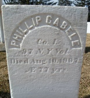 GABELE (CW), PHILLIP - Albany County, New York | PHILLIP GABELE (CW) - New York Gravestone Photos